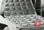 Image of Goodyear rubber heel manufacture Windsor Vermont USA, 1941, second 50 stock footage video 65675030565