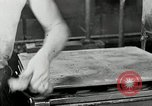 Image of Goodyear rubber heel manufacture Windsor Vermont USA, 1941, second 52 stock footage video 65675030565