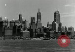 Image of Manhattan and UN Headquarters construction New York City USA, 1948, second 7 stock footage video 65675030574