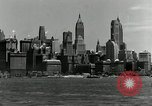 Image of Manhattan and UN Headquarters construction New York City USA, 1948, second 8 stock footage video 65675030574