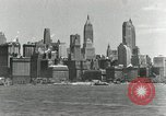 Image of Manhattan and UN Headquarters construction New York City USA, 1948, second 9 stock footage video 65675030574
