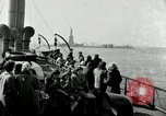 Image of Liberty Island and Manhattan New York United States USA, 1948, second 57 stock footage video 65675030575