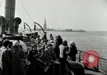 Image of Liberty Island and Manhattan New York United States USA, 1948, second 58 stock footage video 65675030575