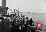 Image of Liberty Island and Manhattan New York United States USA, 1948, second 60 stock footage video 65675030575