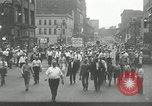 Image of Union workers rally Toledo Ohio USA, 1934, second 2 stock footage video 65675030588