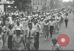 Image of Union workers rally Toledo Ohio USA, 1934, second 7 stock footage video 65675030588