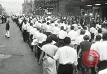 Image of Union workers rally Toledo Ohio USA, 1934, second 13 stock footage video 65675030588