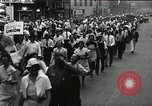 Image of Union workers rally Toledo Ohio USA, 1934, second 25 stock footage video 65675030588