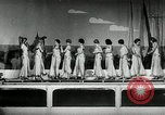Image of aquatic dance Paris France, 1934, second 4 stock footage video 65675030590