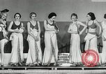 Image of aquatic dance Paris France, 1934, second 8 stock footage video 65675030590