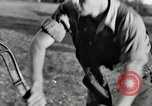 Image of milk barrels Saint Clairsville Ohio USA, 1940, second 41 stock footage video 65675030600