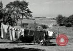 Image of Truck loaded with hay Saint Clairsville Ohio USA, 1940, second 34 stock footage video 65675030604