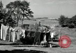 Image of Truck loaded with hay Saint Clairsville Ohio USA, 1940, second 35 stock footage video 65675030604
