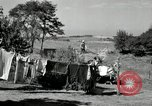 Image of Truck loaded with hay Saint Clairsville Ohio USA, 1940, second 36 stock footage video 65675030604