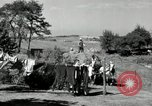 Image of Truck loaded with hay Saint Clairsville Ohio USA, 1940, second 38 stock footage video 65675030604