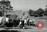 Image of Truck loaded with hay Saint Clairsville Ohio USA, 1940, second 39 stock footage video 65675030604