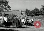 Image of Truck loaded with hay Saint Clairsville Ohio USA, 1940, second 40 stock footage video 65675030604