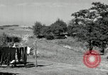 Image of Truck loaded with hay Saint Clairsville Ohio USA, 1940, second 52 stock footage video 65675030604