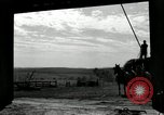 Image of Truck loaded with hay Saint Clairsville Ohio USA, 1940, second 54 stock footage video 65675030604