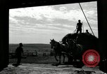 Image of Truck loaded with hay Saint Clairsville Ohio USA, 1940, second 57 stock footage video 65675030604