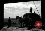 Image of Truck loaded with hay Saint Clairsville Ohio USA, 1940, second 58 stock footage video 65675030604