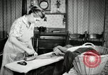 Image of farm family in evening Saint Clairsville Ohio USA, 1940, second 7 stock footage video 65675030605