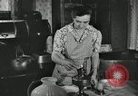 Image of farm family in evening Saint Clairsville Ohio USA, 1940, second 27 stock footage video 65675030605