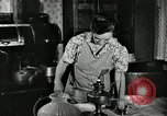 Image of farm family in evening Saint Clairsville Ohio USA, 1940, second 29 stock footage video 65675030605