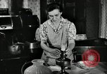 Image of farm family in evening Saint Clairsville Ohio USA, 1940, second 31 stock footage video 65675030605