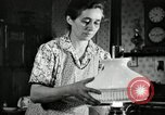 Image of farm family in evening Saint Clairsville Ohio USA, 1940, second 35 stock footage video 65675030605