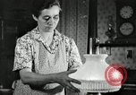 Image of farm family in evening Saint Clairsville Ohio USA, 1940, second 37 stock footage video 65675030605