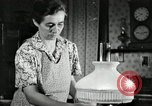 Image of farm family in evening Saint Clairsville Ohio USA, 1940, second 39 stock footage video 65675030605