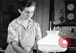 Image of farm family in evening Saint Clairsville Ohio USA, 1940, second 41 stock footage video 65675030605