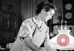 Image of farm family in evening Saint Clairsville Ohio USA, 1940, second 42 stock footage video 65675030605