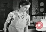 Image of farm family in evening Saint Clairsville Ohio USA, 1940, second 44 stock footage video 65675030605