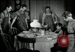 Image of farm family in evening Saint Clairsville Ohio USA, 1940, second 57 stock footage video 65675030605