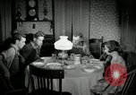 Image of farm family in evening Saint Clairsville Ohio USA, 1940, second 59 stock footage video 65675030605