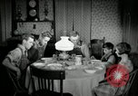 Image of farm family in evening Saint Clairsville Ohio USA, 1940, second 60 stock footage video 65675030605