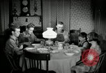 Image of farm family in evening Saint Clairsville Ohio USA, 1940, second 61 stock footage video 65675030605