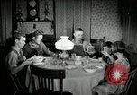 Image of farm family in evening Saint Clairsville Ohio USA, 1940, second 62 stock footage video 65675030605
