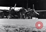 Image of P-38 plane propeller assembly Australia, 1942, second 4 stock footage video 65675030614
