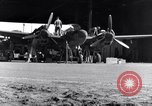 Image of P-38 plane propeller assembly Australia, 1942, second 10 stock footage video 65675030614