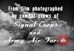 Image of B-24 Liberator aircraft on bombing run Germany, 1945, second 23 stock footage video 65675030615