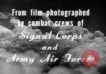 Image of B-24 Liberator aircraft on bombing run Germany, 1945, second 25 stock footage video 65675030615