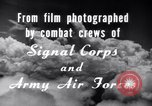 Image of B-24 Liberator aircraft on bombing run Germany, 1945, second 26 stock footage video 65675030615