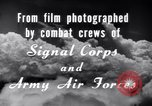 Image of B-24 Liberator aircraft on bombing run Germany, 1945, second 28 stock footage video 65675030615