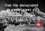 Image of B-24 Liberator aircraft on bombing run Germany, 1945, second 29 stock footage video 65675030615
