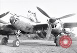 Image of Native tribesmen with P-38 planes New Guinea, 1944, second 1 stock footage video 65675030622