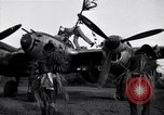 Image of Native tribesmen with P-38 planes New Guinea, 1944, second 3 stock footage video 65675030622