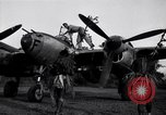 Image of Native tribesmen with P-38 planes New Guinea, 1944, second 4 stock footage video 65675030622